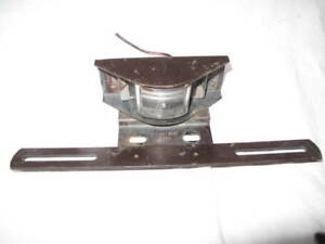 71 76 Ford Truck License Plate Light Lamp Signal stat 9365