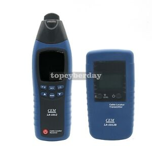 La 1012 Lcd General Cable Fault Locator Tester Meter Receiver With Transmitter