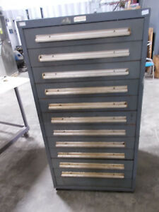 Equipto 12 Drawer Tooling Cabinet 30 X 28 X 59