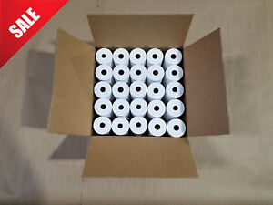 3 1 8 X 230 Thermal Paper For Touch Dynamic Tb4 Thermal Printer 50 Rolls New