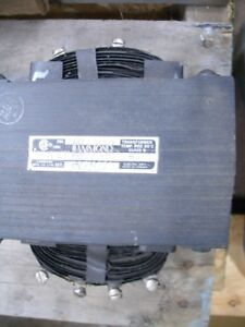 Hammond Type H Transformer Cat 105227 Pri 240 480v Split Winding