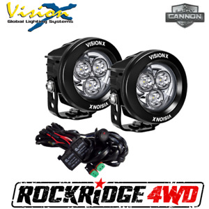 Vision X 3 7 Cg2 Multi Led Light Cannons Pair 42 Watt 4 500 Lumens Fog Lights