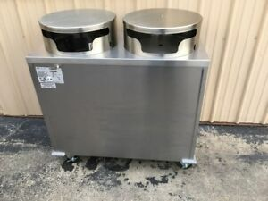 Delfield Mobile Plate Dispenser Model Cab2 1450et Heated