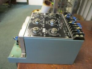 Lake Shore Electric Voltage Sensing Relay 06 331 3p 0 480v Used