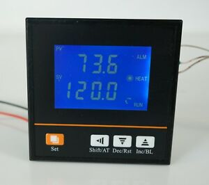 Lot 14 Pid Temperature Controller Relay Output 1 4 Din W Rtd Thermistor R0013