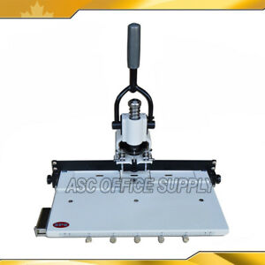 300sheets Paper Hole Drill Punch Machine 1 4 Hole Size For Binding Puncher