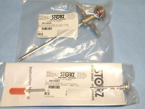 Storz High Flow Arthroscopy Sheath For 4mm Arthroscope W Obturator Model 28136cr
