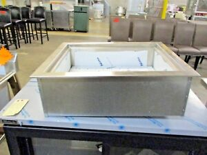 Wells Icp 200 31 Two Pan Drop In Ice Cooled Cold Food Well 12472