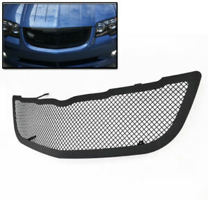 2004 2008 Chrysler Crossfire Front Main Upper Mesh Grille Grill Insert Black New