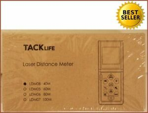 New Tacklife Ldm 08 Laser Tape Measure Ldm08 131 Ft Lcd Mute Function 100 seller