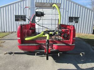 Asphalt Sealcoating spray Bar tank parking Lot sprayer equip