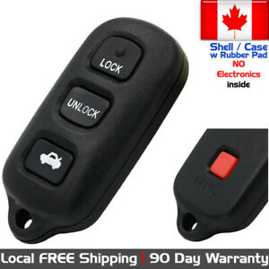 1x New Replacement Keyless Remote Key Fob For Toyota Camry Solara Case Shell