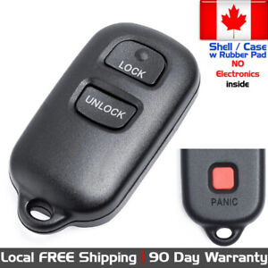 1x New Replacement Keyless Remote Key Fob For Toyota Gq43vt14t Shell Only