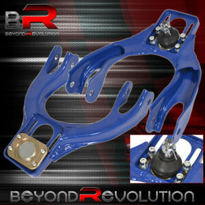 92 95 Honda Civic Eg Del Sol Front Upper Adjustable Control Arm Camber Kit Blue