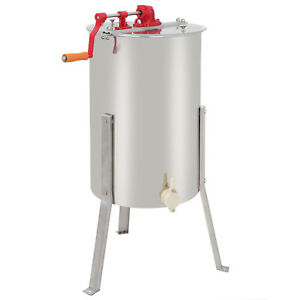 Best Honey Extractor 2 Frame Stainless Steel With Plastic Honey Gate