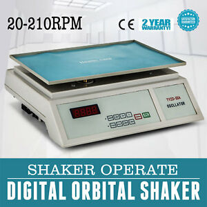 Lab Digital Oscillator Orbital Rotator Shaker Speed Control Scientific 0 210rpm