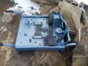 Hydraulic Power System Portable 10 To 15 Gallon Needs To Be Repowered