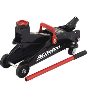 New Ac Delco 2 Ton Trolley Floor Jack Service Auto Vehicle Car Jack Two Ton Lift