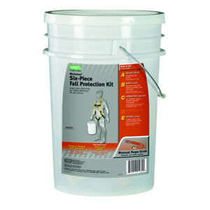 Safety Works Fall Protection Bucket Kit Fp Harness Body Work Construction Kit