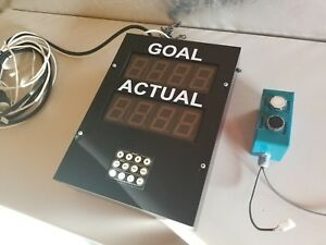 Industrial Pace Counter American Led gible Af 2720 100 With Remote Count Button