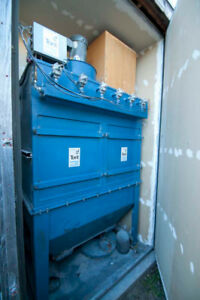 Torit Donaldson Td970 Dust Collector 5hp 3 Phase Auto air Pulse Cleaning