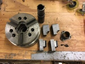 Kitagawa Hoh 06k High Speed Large Thru Hole Power Chuck W some Jaws