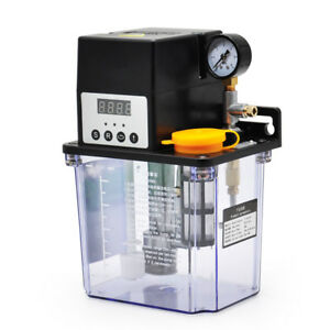 2l Electric Automatic Lubrication Pump Cnc Digital Auto Oil Pump 220v