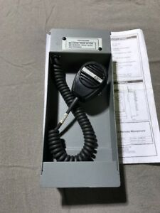 Edwards Est 3 remica Remote Microphone Fire Alarm Pre owned