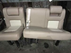 2004 Ford Expedition Back Seat 3rd Row Tan Leather