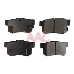 Aal Rear Brake Pads For 2007 2008 Honda Civic Si Complete Set 4 Pieces