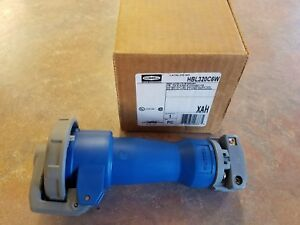 Hubbell Hbl320c6w Pin Sleeve Connector 20a 250vac 2p 3w kentucky Stock