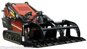 Brush Grapple For Mini Skid Steer Loader 42 Bradco Fit Toro vermeer ditch Witch
