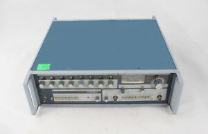 Adret 3300 A Frequency Generator Synthesizer Tested