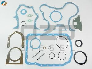 Eapn6a008a Lower Gasket Set Fits Ford 3 Cyl 2000 3000 4000 Series Tractors