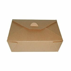 Packnwood Kraft Take out Meal Box 4 25 X 3 5 X 1 25 case Of 500