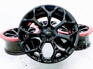 20 Chrysler 300 300s 300c Rwd Rims Wheels Set Of 4 Gloss Black 2539
