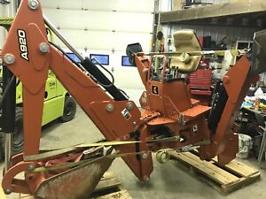 Ditch Witch A920 Backhoe Trencher Vibratory Plow Attachment Case