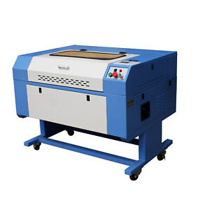 60w Co2 Usb Laser Engraver Engraving Cutting Machine 900 600mm With Chiller