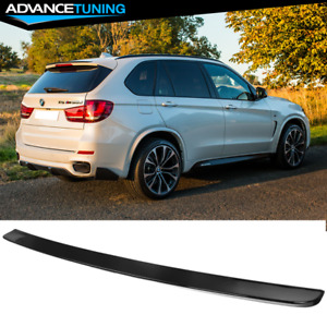 Fits 14 17 Bmw F15 X5 M Performance Oe Gloss Black Rear Roof Spoiler Wing Abs