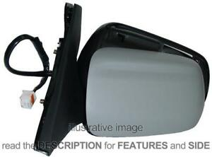 Side Mirror Mazda 323 F 1998 2000 Electric Thermal Left