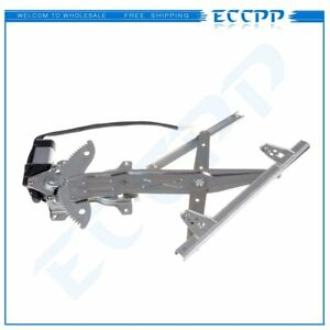 For 1997 2001 Toyota Camry Rear Driver Side Power Window Regulator With Motor