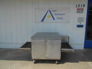 Lincoln Pizza Oven conveyor Oven Model 1050 Propane Works Great 2121