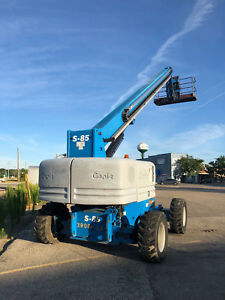 2006 Genie S 85 85 4wd Diesel Telescopic Boom Lift Aerial Manlift