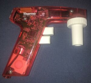 Thermo Scientific Pipet Filler S1 Red Translucent Poets On No Charger k12