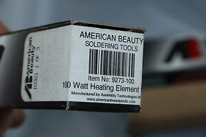 American Beauty Soldering Iron Heating Element 100w 9273 100