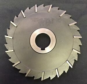 Circular 5 X 1 4 X 1 26t Hs Side Staggered Mill Slitting Saw