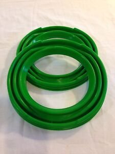 Pair Of Rockwell Green 2 5 Ton Axle Boots Dust Seals M35 Military Truck Deuce