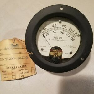 Panel Meter Model 47mr Hickok Electric Instrument Co 0 300 0 150 4188 752