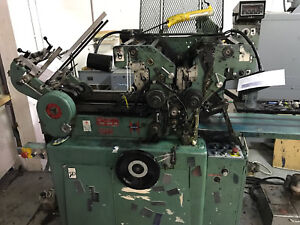 2 Color Halmjet Envelope Press Jptwod 6d Serial 3049rc