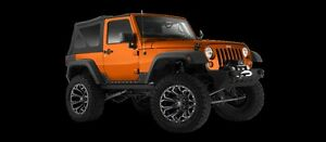 5 18 Fuel Assault Black Wheels 35 Toyo Mt Tires Package Jeep Wrangler Jk